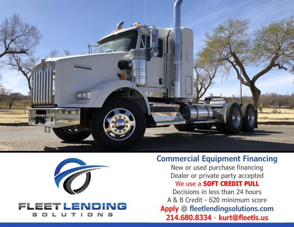 Truck, Trailer, AG & Construction Equipment Financing (Providence)