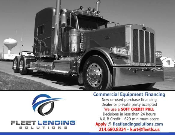 Truck, Trailer, AG & Construction Equipment Financing (Winchester)