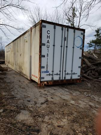 Insulated shipping container (Franklin) $3000