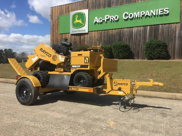 NEW 2019 RAYCO RG37 4X4 STUMP GRINDER (CALL TOBY 229-221-4493) $25992