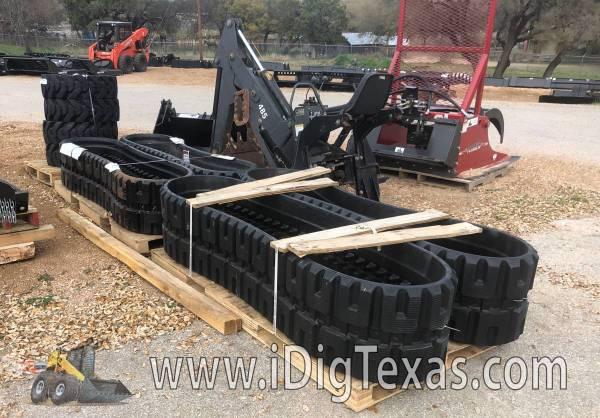 SKID STEER RUBBER TRACKS - Kubota SVL75 SVL 90 SVL95 IN STOCK! (Central TX/Marble Falls) $1690