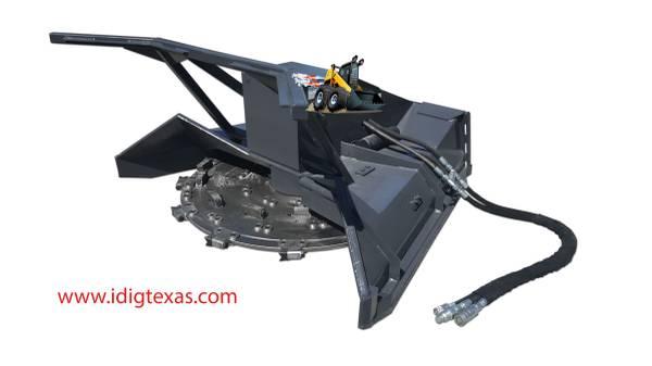 Skid Steer - Disc Mulcher - High Flow - BOBCAT CAT DEERE CASE (Central TX/Marble Falls) $16595