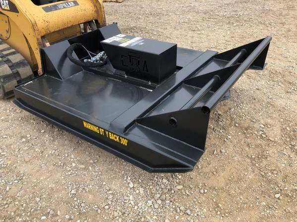 Skid Steer - ECONOMY Brush Cutter - www.idigtx.com BOBCAT CAT DEERE (Central TX/Marble Falls) $2995