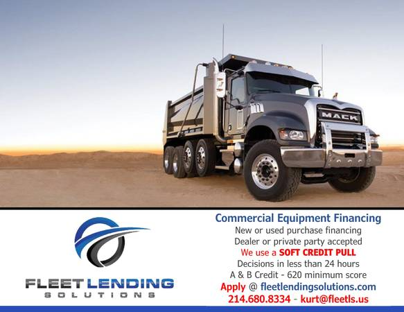 Truck, Trailer, AG & Construction Equipment Financing (Idaho Falls)