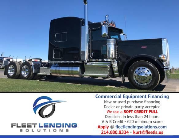 Truck, Trailer, AG & Construction Equipment Financing (Kansas City)