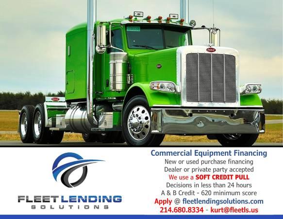 Truck, Trailer, AG & Construction Equipment Financing (Spokane)
