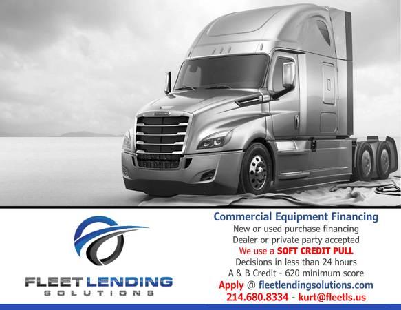 Truck, Trailer, Ag & Construction Equipment Financing (Omaha)