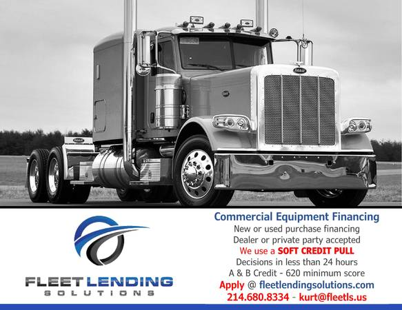 Truck, Trailer & Construction Equipment Financing (New York)