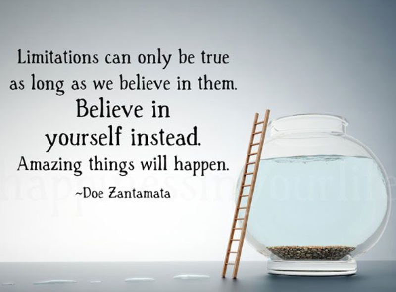 Who are you without limitations?