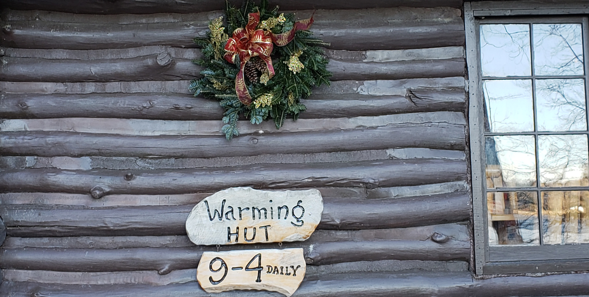 Warming Hut Open