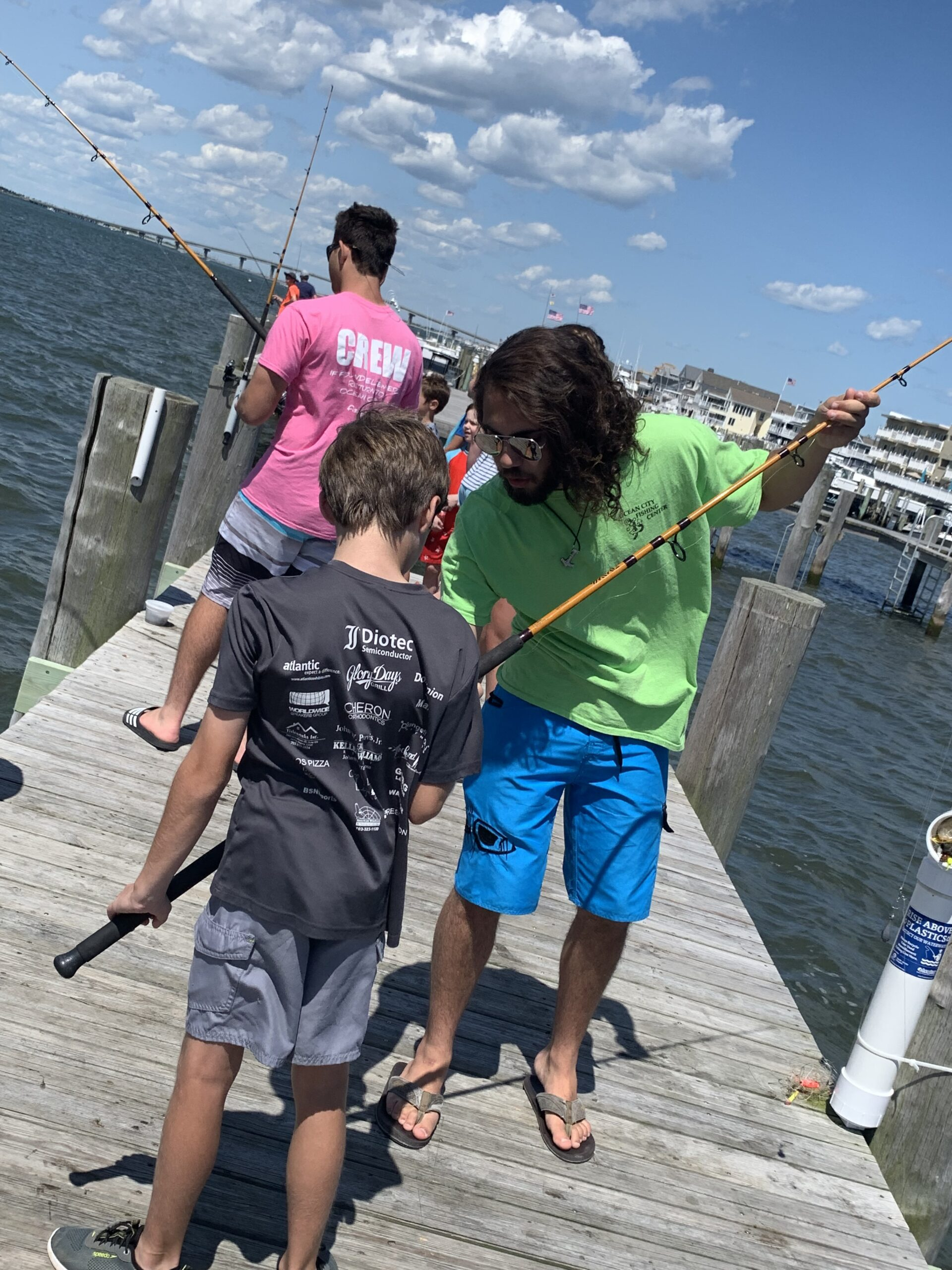 Fishing Lessons at Ocean City Fishing Center