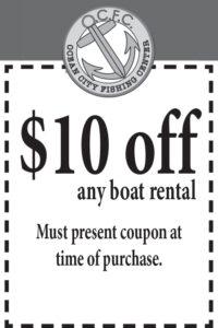 Ocean City Fishing Center coupon