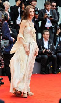 Giselda Volodi at the 69th Venice Film Festival, 2012