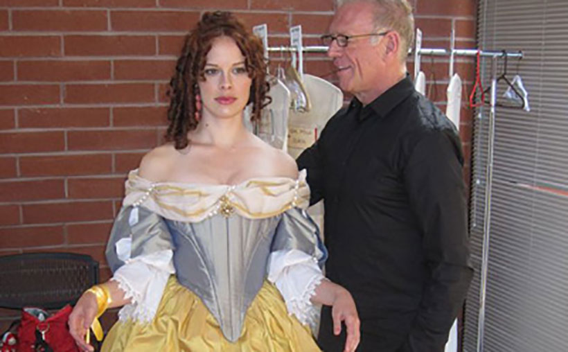 """Jean-Louis choreographs period movement for UCLA's """"The Country Wife"""""""