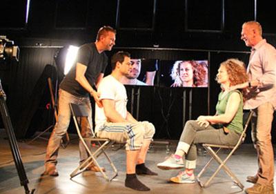 Kristof & Jean-Louis Teaching at Berlinale 2013 - Alexander Technique in Film