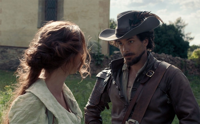 """Santiago Cabrera trains with Jean-Louis for BBC's """"The Musketeers"""""""