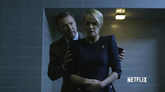 Kristof Konrad & Robin Wright - House of Cards