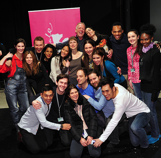 International actors meet at Berlinale Talents to study with Jean-Louis & Kristof