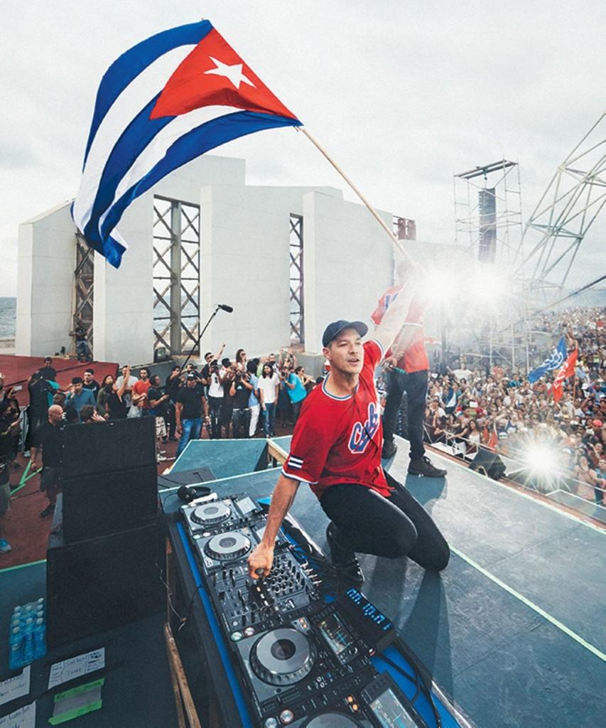 Diplo in Cuba