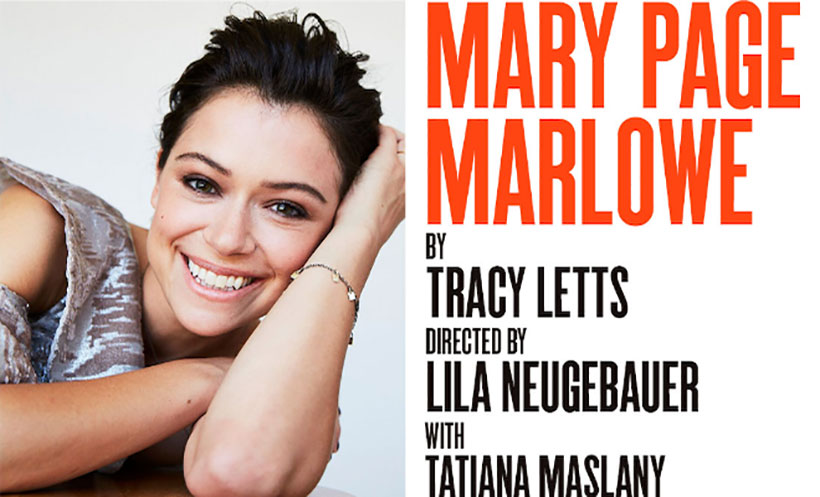"""Jean-Louis Rodrigue coaches Tatiana Maslany physically and vocally for """"Mary Page Marlowe"""""""
