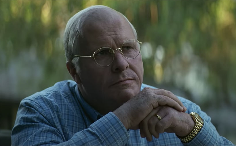 """Christian Bale coaches with Jean-Louis Rodrigue to transform into Dick Cheney in """"Vice"""""""