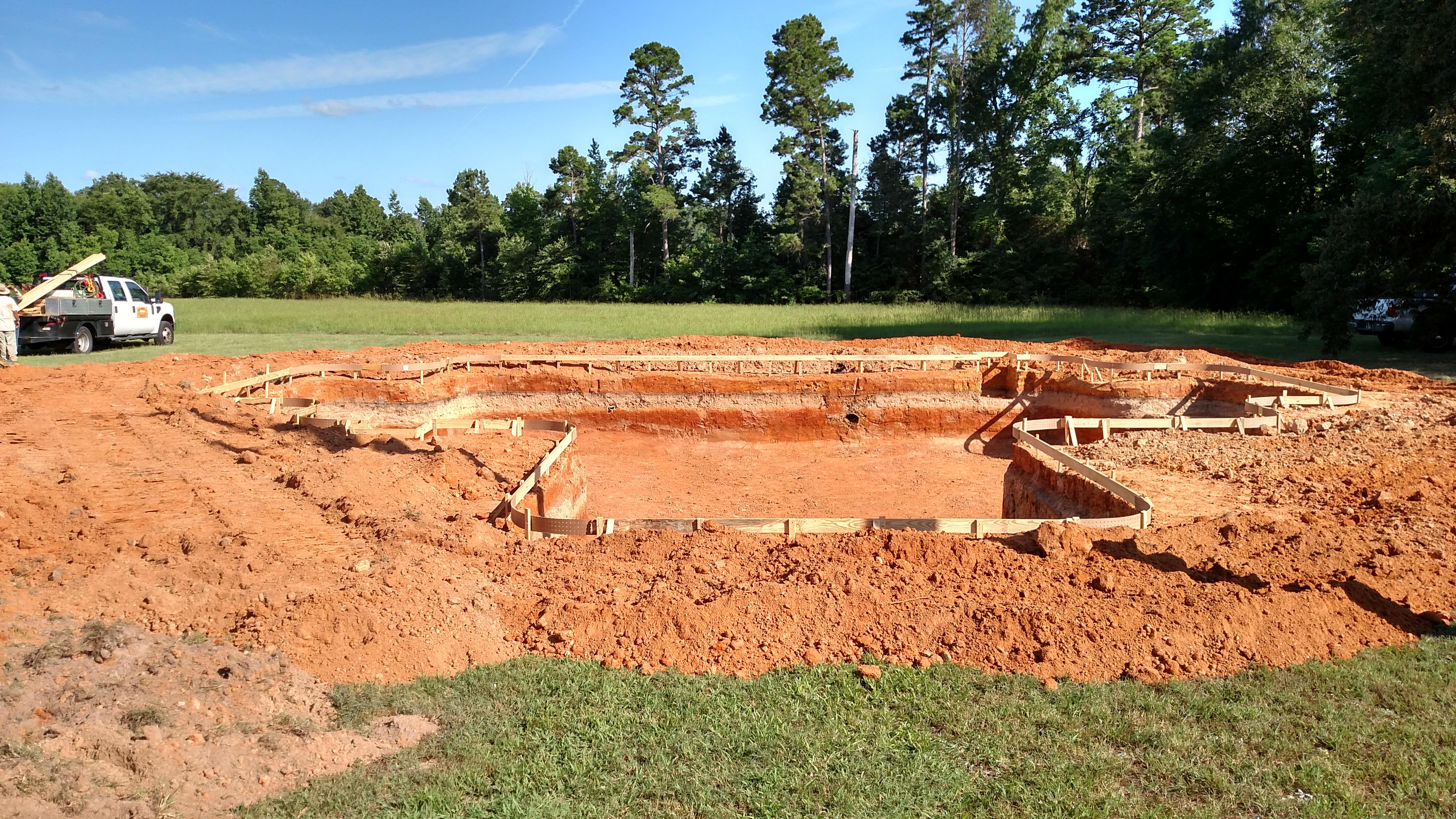 pool excavation process