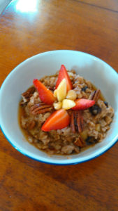 Spiced Oats