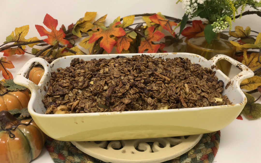 Apple Crisp — Gluten Free and Dairy Free