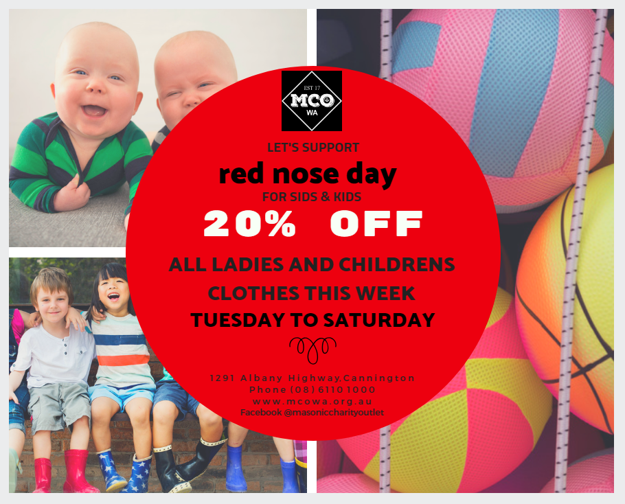 FB Post – Red Nose Day