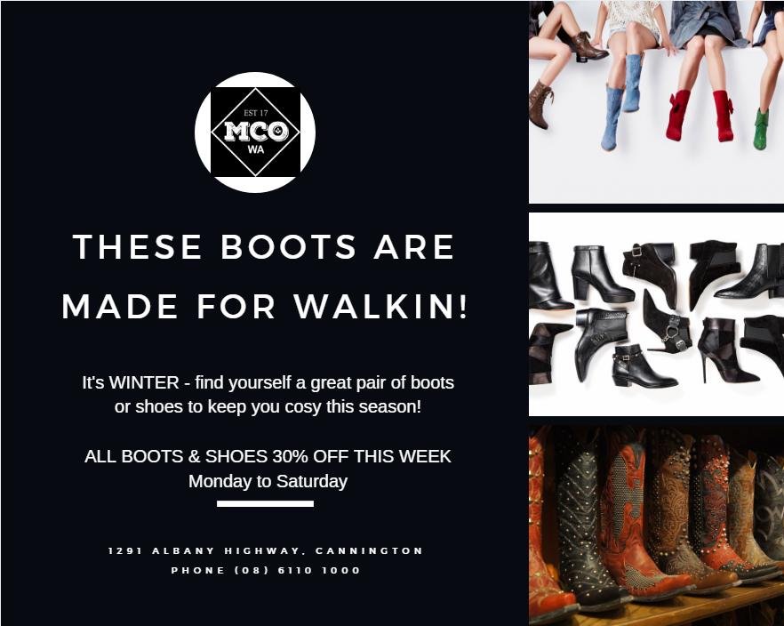 MCO FB Post – Boots