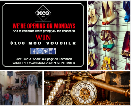 We're Opening Mondays