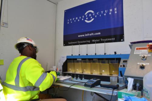Water treatment operator