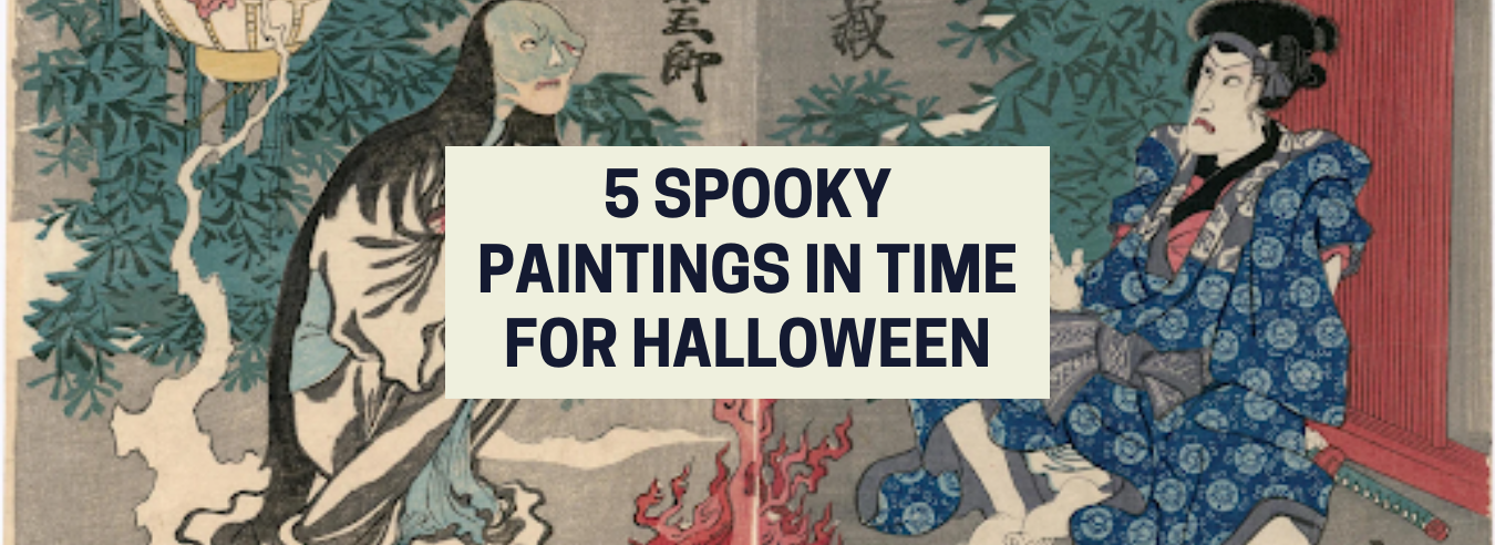 Spooky Paintings In Time For Halloween