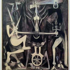 The Wedding By Wilfredo Lam