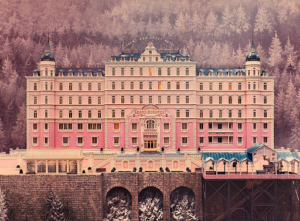 The Grand Budapest Hotel's iconic, grandiose design came directly from concept artist Carl Sprague. Via Twitter.