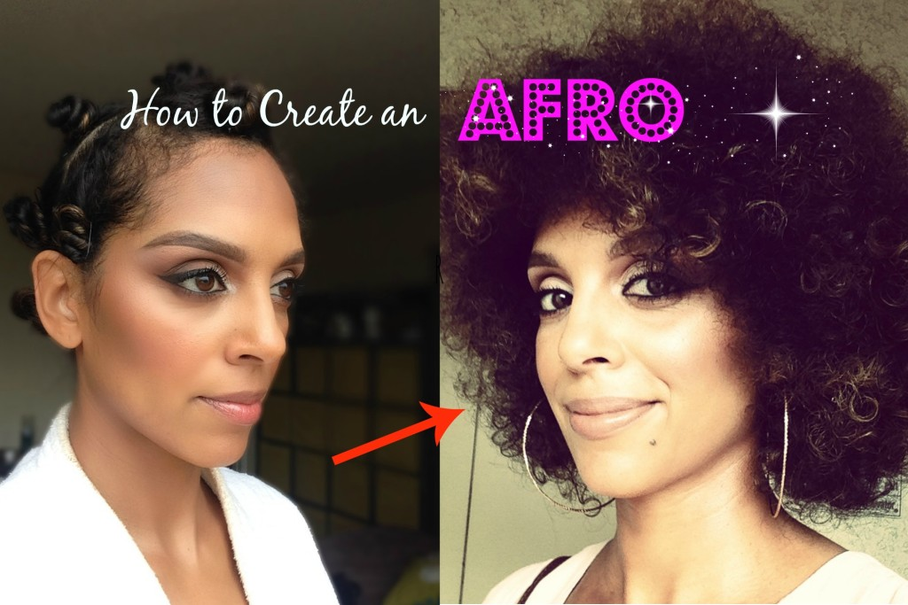 How to Create an Afro