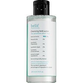 Belif- Cleansing Herb Water ($26)
