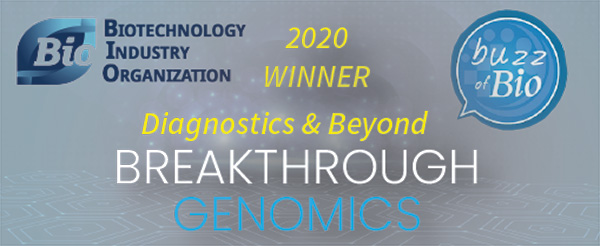 Breakthrough Genomics is BioBuzz 2020 Winner Diagnostics & Beyond