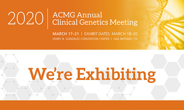 Visit Breakthrough Genomics at ACMG 2020 Meeting
