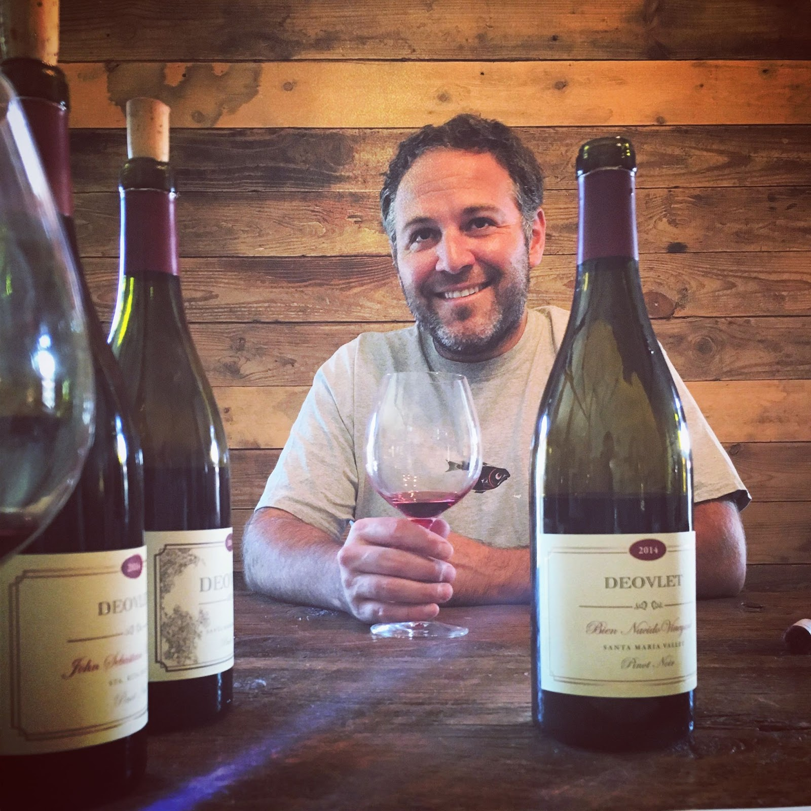 Ryan Deovlet of Deovlet Wines