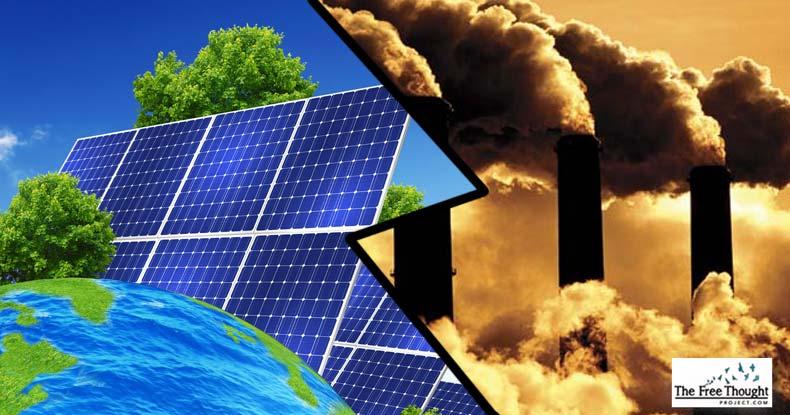 renewable energy vs fossil fuels