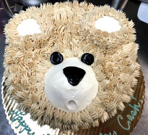 1 Teddy Bear Covered Top