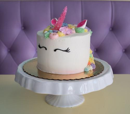 14 Pastel Tone Unicorn Cake