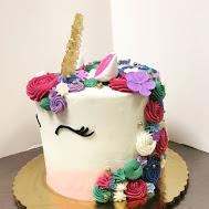 16 Unicorn Cake Gem Tone