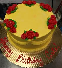23 Belle Rose Swag