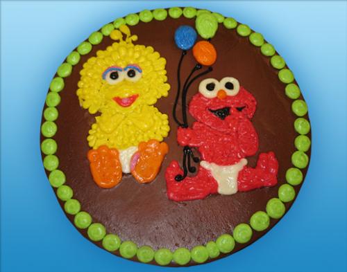 52 Baby Big Bird and Elmo