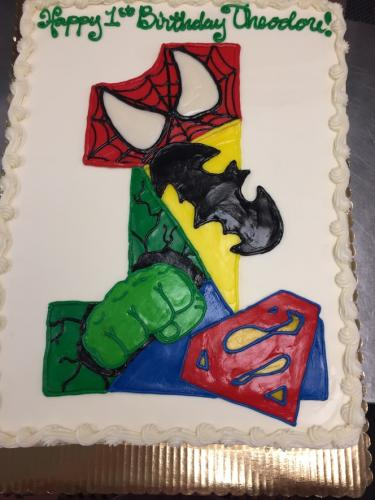 73A Superheroes