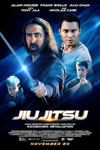 Jiu Jitsu theatrical poster