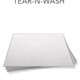 Tear and Wash