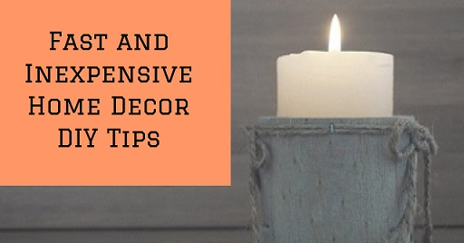 5 Easy Home Decor DIY Tips